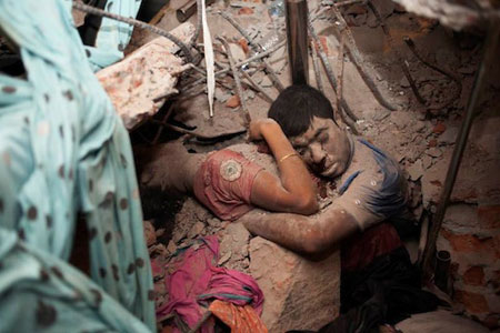 Rana Plaza in Bangladesh (Photo: Taslima Akhter/Counterpunch)